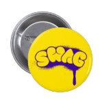 Etiqueta del Swag (amarillo/púrpura) Pin