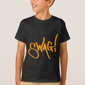 Etiqueta del Swag - naranja Remera