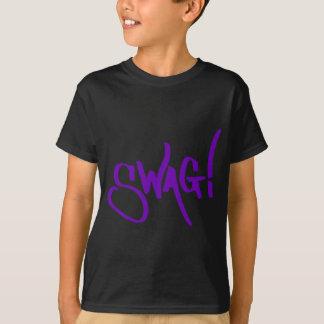 Etiqueta del Swag - púrpura Remera