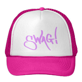 Etiqueta del Swag - rosa Gorra