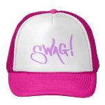 Etiqueta del Swag - rosa Gorras
