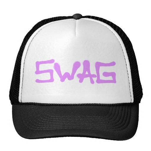 Etiqueta del Swag - rosa Gorras De Camionero