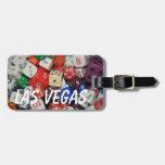 Etiqueta del viaje de Las Vegas Etiqueta De Maleta