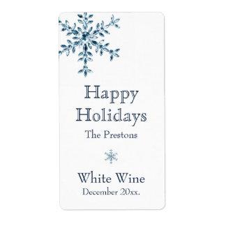 Etiqueta del vino del encanto del día de fiesta (b etiquetas de envío
