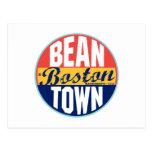 Etiqueta del vintage de Boston Postal