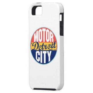 Etiqueta del vintage de Detroit iPhone 5 Fundas