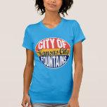 Etiqueta del vintage de Kansas City Camisetas