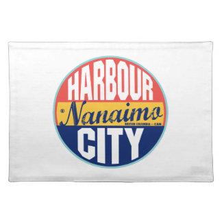 Etiqueta del vintage de Nanaimo Mantel Individual