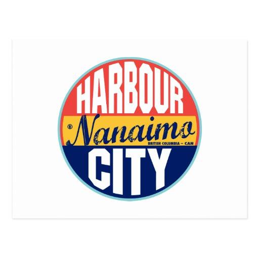 Etiqueta del vintage de Nanaimo Postales
