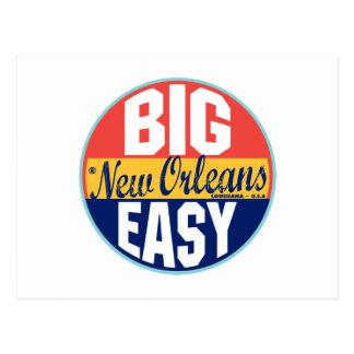 Etiqueta del vintage de New Orleans Tarjetas Postales