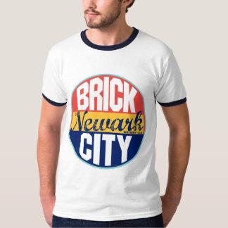 Etiqueta del vintage de Newark Camisas