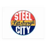 Etiqueta del vintage de Pittsburgh Postal