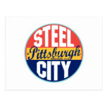 Etiqueta del vintage de Pittsburgh Tarjeta Postal