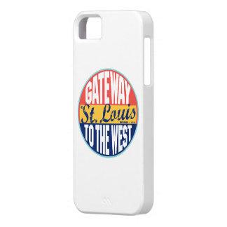 Etiqueta del vintage de St. Louis iPhone 5 Carcasas