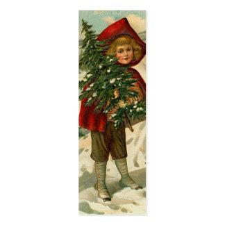 Etiqueta del vintage o etiqueta conocida del regal plantillas de tarjeta de negocio