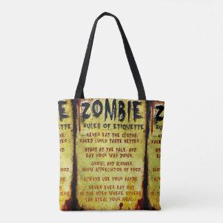 Etiqueta del zombi