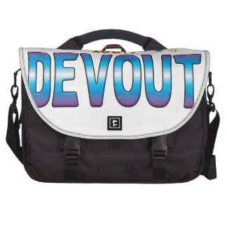 Etiqueta devota v2 de la estrella bolsas para portátil