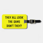 Etiqueta divertida del equipaje de la cita para lo etiquetas bolsa