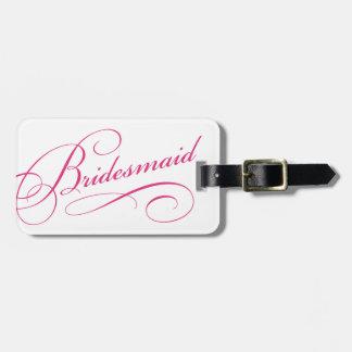 Etiqueta dulce del equipaje del bachelorette de la etiquetas para equipaje