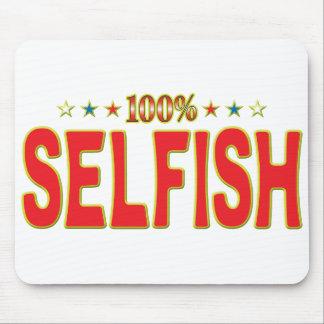 Etiqueta egoísta de la estrella