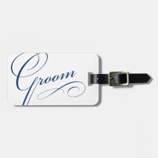 Etiqueta elegante del equipaje del viaje de la lun etiqueta de equipaje