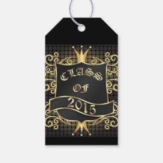 Etiqueta elegante del regalo de la graduación - etiquetas para regalos