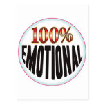 Etiqueta emocional postal