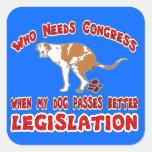Etiqueta engomada del congreso