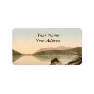 Etiqueta escénica de Galway Irlanda Avery Etiqueta De Dirección