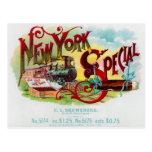 Etiqueta especial del cigarro del vintage de Nueva Tarjeta Postal
