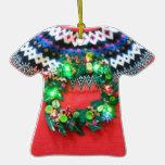 Etiqueta fea de encargo del premio o del regalo de ornamentos para reyes magos