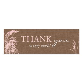 Etiqueta flaca del regalo de la novia dulce del tarjetas de visita mini