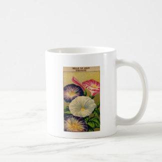 Etiqueta francesa del paquete de la semilla de la  tazas
