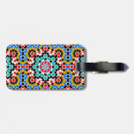 Etiqueta geométrica islámica del equipaje del mode etiquetas para maletas