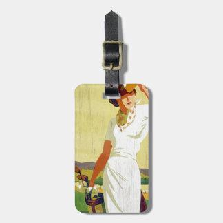 Etiqueta Golfing del equipaje de la señora Etiqueta De Equipaje