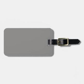 Etiqueta gris del equipaje del Dos-Tono Etiquetas Bolsas