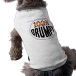 Etiqueta gruñona camisetas de perrito