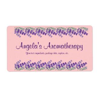Etiqueta hecha en casa del Aromatherapy del Etiquetas De Envío