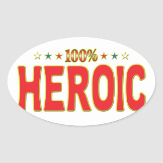 Etiqueta heroica de la estrella