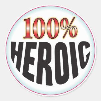 Etiqueta heroica