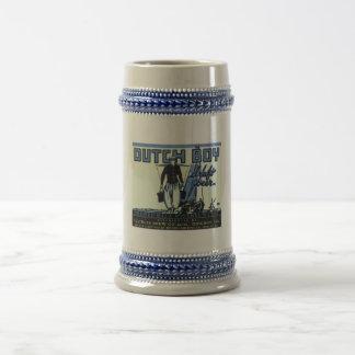 Etiqueta holandesa Stein del muchacho Tazas De Café