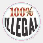 Etiqueta ilegal