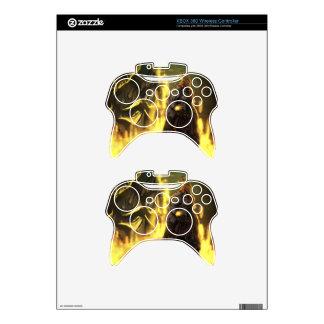 etiqueta inalámbrica del regulador de Xbox 360 Mando Xbox 360 Skins