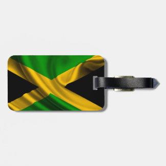 Etiqueta jamaicana del bolso de la bandera etiquetas maletas
