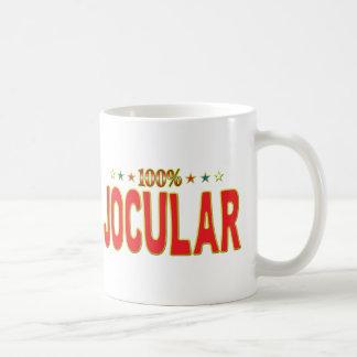 Etiqueta jocosa de la estrella taza clásica