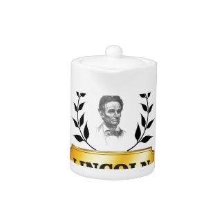 etiqueta Lincoln del oro