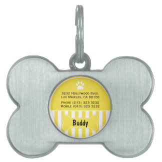 Etiqueta linda de la identificación del perro amar placas de nombre de mascota