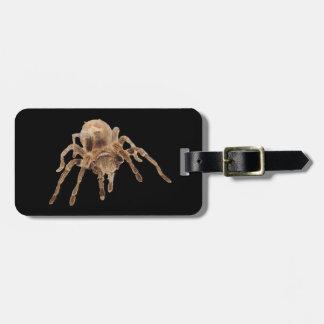 Etiqueta llana del equipaje del Tarantula Etiquetas Para Equipaje