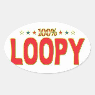 Etiqueta Loopy de la estrella