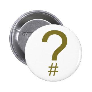 Etiqueta/marca índice amarillas de la pregunta